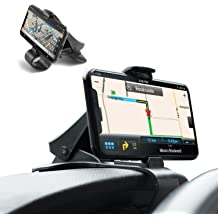 Tsumbay Car Phone Holder Dashboard Cellphone Mount Mobile Clip Stand HUD Design for Smart Phone 3.0-6.5inch