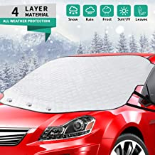 Cargoodhelper Thin Blue Line American Flag Windshield Sunshade for Car SUV Trucks Minivans,Front Auto Sun Shade Keeps Vehicle Cool-UV Rays Protector Sun Blocker