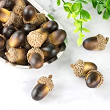 250g Bag BUYGOO Natural Acorn Caps for Crafting Decoration DIY Home Party Wedding Decor Thanksgiving Christmas Festival