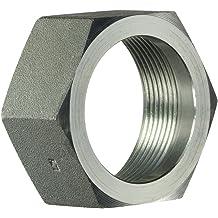 7//8 Hose Barb x 1-5//16-12 Male Adjustable O-Ring Boss 1.312 Flats 1-5//16-12 AORB Thread 1.312 Flats Inc. 1-5//16-12 AORB Thread Brennan Industries 4601-14-16-NWO-FG Forged Steel 90 Degree Elbow Adapter Nut Washer O-Ring