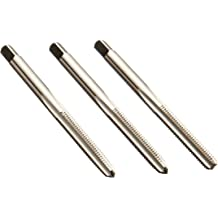 Union Butterfield TN1585 Plug Chamfer 2 Flute TiN Coated 1//4-20 Thread Size UNC Round with Square End High-Speed Steel Spiral Point Tap