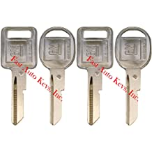 4 NEW GM Logo OEM A IGNITION B DOORS//TRUNK Key Blanks Uncut 320588 320589