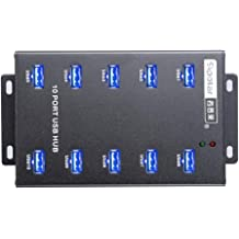 UHPPOTE Sipolar 16 Port USB 2.0 Hub Support 16 U-Disk for Duplicate with The Software