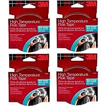 3M High Temperature Flue Tape 3-ROLL 15-Foot Roll