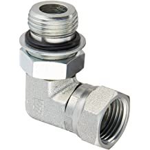 Male O-Ring Boss x Female O-Ring Boss Brennan Industries 6410-12-08-O-SS Stainless Steel Straight Reducer 1-1//16-12 SAE ORB x 3//4-16 SAE ORB Thread
