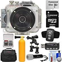 Duo X2 Action CameraIntova Sport Pro HD Video Camera Dub HD2 Nova HD Navitech 50-in-1 Action Camera Accessories Combo KIt with EVA Case Compatible with The Intova ConneX