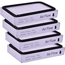 compares to 86880 compares to MC-V194H and Also Compatible with Panasonic Fette Filter Pack of 4 HEPA Vacuum Filter Compatible with Kenmore Exhaust EF-2