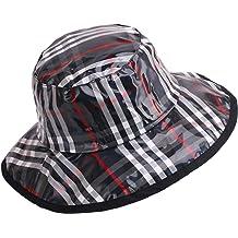 c082e042 Women's Rain Hats Waterproof Rain Hat Wide Brim Bucket Hat ...