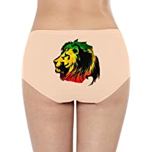 DERLONKAJE Boyshort Panties Womens Autism Awareness Colorful Puzzle Piece Soft Underwear Briefs