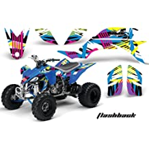 AMR Racing Graphics Kit for ATV Suzuki King Quad 500AXi 2013-2016 REAPER RED