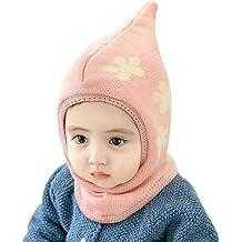 Baby Winter Hat Scarf Mitten Set Unisex Infant Toddler Kids Hat Scarf