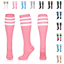 461b6c3e3c NEWZILL Compression Socks (20-30mmHg) for Men & Women, Best Graduated  Athletic Fit for Running, Nurses, Shin Splints, Flight Travel & .