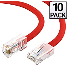 SMB 1x8 red CAT 5e snagless M OmniView IP 5000HQ for Omniview SMB 1x16 booted UTP B2B - RJ-45 M RJ-45 Belkin A3L791-03-RED-S Patch cable stranded - 3 ft OmniView SMB CAT5 KVM Switch