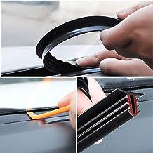 Etopar Universal 39 inch 1Meter Car Door Edge Guards U Shape Edge Trim Rubber Seal Protector Stripping Automotive Boat Van Weather Strip Bumper Flexible 15mm X 21mm