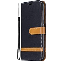 NEXCURIO Wallet Case for Galaxy A10S with Card Holder Side Pocket Kickstand NEBFE020303 Brown Shockproof Leather Flip Cover Case for Samsung Galaxy A10S