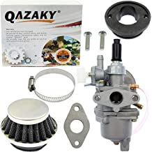 QAZAKY 2pc Fuel Pump Gas Valve Carburetor Petcock Shut Off Switch Carb for GY6 50cc 60cc 80cc 90cc 110cc 125cc 150cc 200cc 250cc Engine ATV Scooter Go Kart Moped Chinese 2 P