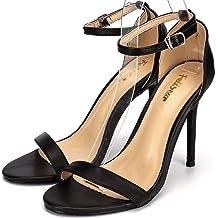 Felistar Women Slides Slippers Sparkling Bling Glitter,Indoor Outdoor House Sandals