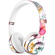 bdb317ae067 Subtle Watercolor Pink Floral DesignSkinz Full-Body Skin Kit for The Beats  by DRE Solo 3 Wireless Headphones/Ultra-Thin/Matte .