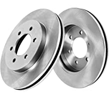 for 2010-2015 Cadillac SRX 2011 Saab 9-4X 8 PC Set Detroit Axle 8PR1400015 Front /& Rear Brake Rotors w//Ceramic Pads and Brake Clips