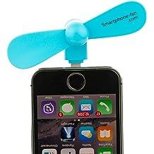 FAHGV Desk Fan Mini Electric Fans Portable Personal Fan Mute Bed USB Fan Rechargeable Cooling Fan Holder Bracket for Car,Blue