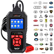 OBD 2 Scanner Professional Enhanced Universal Car Automotive Check Engine Light Error Analyzer Auto CAN Vehicle Diagnostic Scan Tool for OBDII Protocol Cars Foseal OBD2 Code Reader