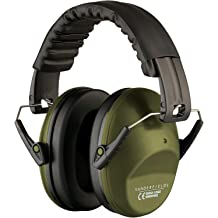 493d26996ae Ear Protection for Shooting - Compact Foldable Portable Hearing Protection  Safety Earmuffs for Blocking Sound Reduction - Perfect for Hunting .