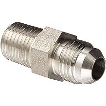 06MJ-06MP 90 Degree Elbow 3//8 Tube OD x 3//8-18/ NPTF Male 3//8 Tube OD x 3//8-18/ NPTF Male Stainless Steel JIC Tube Fitting Brennan 2501-06-06-SS