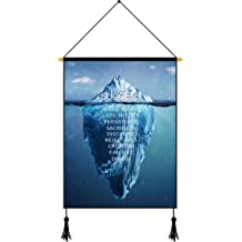 Visual Art Decor Success Inspirational Quote Ocean Diving Exploration Canvas Poster Motivational Motto Giclee Prints Home Office Bedroom Wall Decoration Gift Ready to Hang