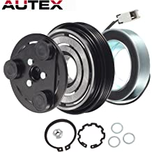 AUTEX AC A//C Compressor Clutch Coil Assembly Kit 4472607940 73111AG000 73111AJ040 88410B1010 Compatible with 2005 2006 2007 2008 2009 Subaru Legacy 4CYL 2.5L /& Subaru Outback 4CYL 2.5L