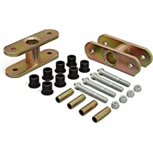 Jeep CJ8 1 Taller Polyurethane Body Mount kit Replaces Factory Body Mount Bushings Made in America Daystar KJ04504BK fits 1981 to 1986 4WD