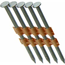 Steel Ring 3-inch by .120 Grip Rite Prime Guard GRS10DRHG 28-deg HD Galv Wire Clipped Head Nails 2,000 per Pack