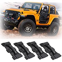 Roll Bar Grab Handles Grip Handle for Jeep Wrangler YJ TJ JK JKU JL JLU Sports Sahara Freedom Rubicon X /& Unlimited 1995-2018 (Roll Bar Black)