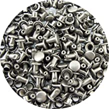 Springfield Leather Companys Gunmetal Large Extra Long Double Cap Rivets 100pk