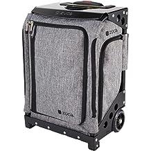 ZUCA Bag PERSIMMON Insert /& Black Frame w// Flashing Wheels FREE SEAT CUSHION