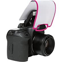 Neon Pink LumiQuest Pocket Bouncer With UltraStrap