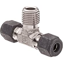 316L Stainless Steel Tube to Pipe Pack of 10 M5 x 0.8 mm Plug-in Stem and Male Metric Straight Thread Standpipe 4 mm Parker 68PLSSP-4M-M5-pk10 Prestolok PLS Push-to-Connect Fitting