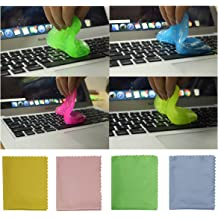 Keypad Car Air Vent Fan TRENDBOX 8PCS Keyboard Cleaner Universal Dust Cleaning Gel Magic Cleaning Gum Super Glue for Computer Laptop Keyboards Calculator