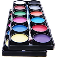 30g Maydear Face Body Paint Whit,Classic Single,Professional Face Paint Palette,Large Water Based Paints