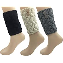 BLongTai Knee High Compression Socks Purple Music Note for Women and Men Sport Crew Tube Socks