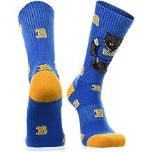 TCK Brands Old School University Half Cushion Over the Calf Sock