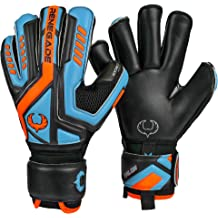 Negative Cut Soccer 30 Day Guarantee Black, Green, Blue, Red, Gray Neoprene Goalkeeper Gloves with Zero-Tolerance Fingersaves Victoire Guardian PRO