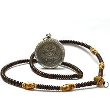 Thai Jewelry Amulets Phra Pidta Closed Eyes Amulets Loung Por Keaw Wat Cluerwaan Temple