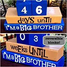 WEIGHT LOSS REVERSIBLE AND INTERACTIVE BLOCKS Reversible and interactive countdown wood word stacking block set for weight loss... motivational and inspirational