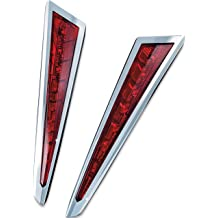 Custom Dynamics GENVICBADGE106L Cheese Wedge Left Side Badge for Victory Vegas