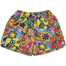 iscream Big Girls Silky Soft Plush Fleece Shorts Holiday Joy Collection