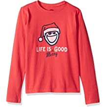 Life is Good B Ss Boys Tee in Tents Life Htfrgr T-Shirt,