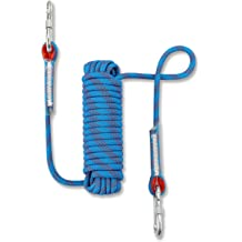 20M 98ft Escape Rope Ice Climbing Equipment Fire Rescue Parachute Rope 64ft 30M 32ft Blue, 30m 98ft NIECOR 12MM Outdoor Climbing Rope 10M Static Rock Climbing Rope