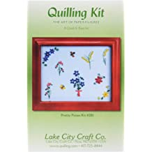 0.625-Inch Lake City Craft 25-Color Assortment Quilling Paper 100-Pack
