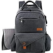 89e2b958cf589 هابتيم متعددة الوظائف الكبيرة حفاضات الطفل حقيبة ظهره W عربه الأطفال  الاشرطه .