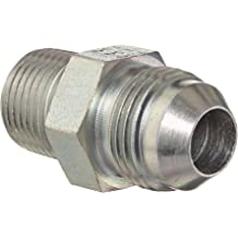 1//2 Hose ID Low Carbon Steel 1//2 Tube Size 1//2 Hose ID 1//2 Tube Size EATON Weatherhead Coll-O-Crimp 08U-A28 90 Degree Female Swivel Short Drop Tube Elbow Fitting